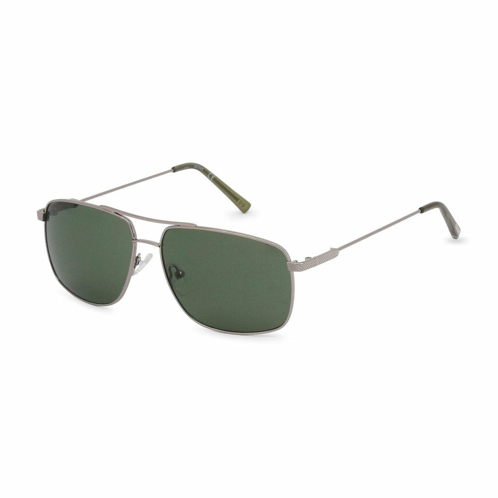 Gray Metal Frame Sunglasses