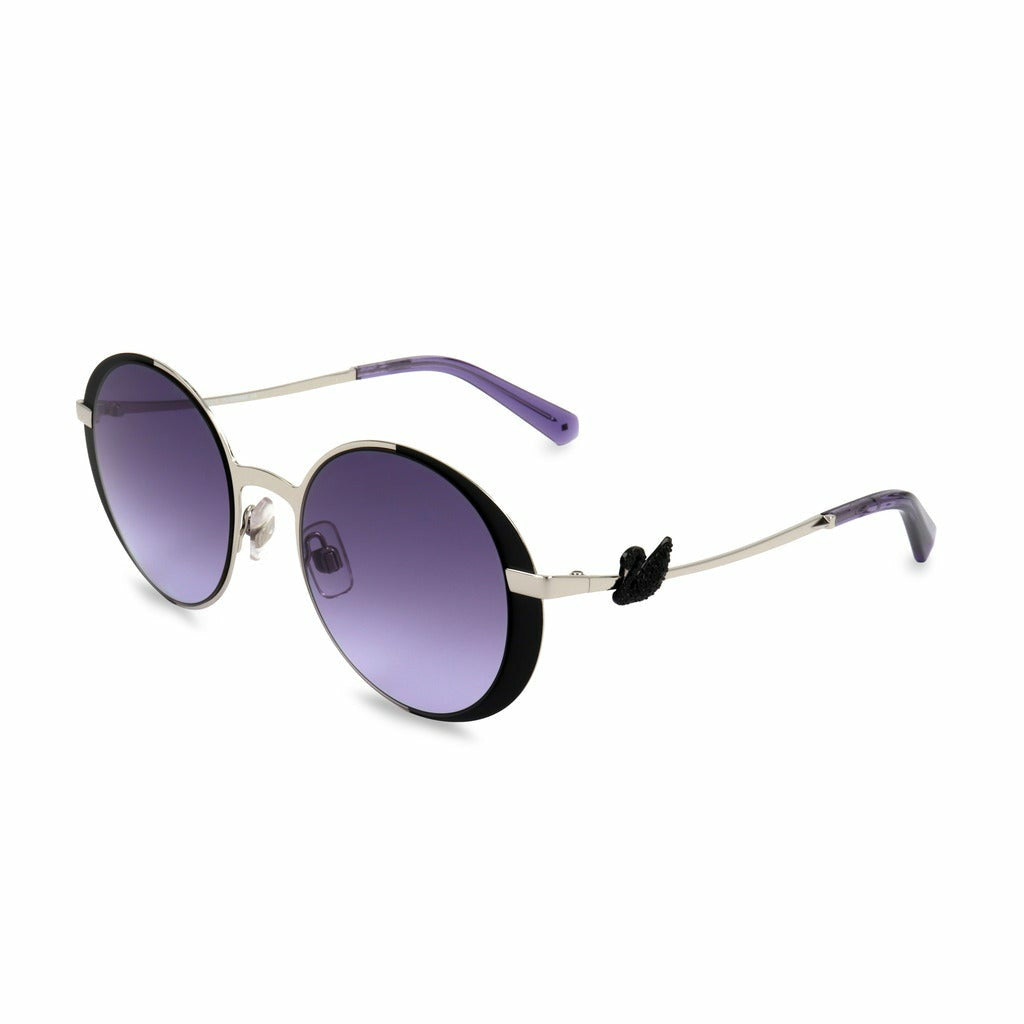 Black Sunglasses with Metal Frame