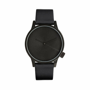 Black Stainless Steel 45mm Quartz Watch