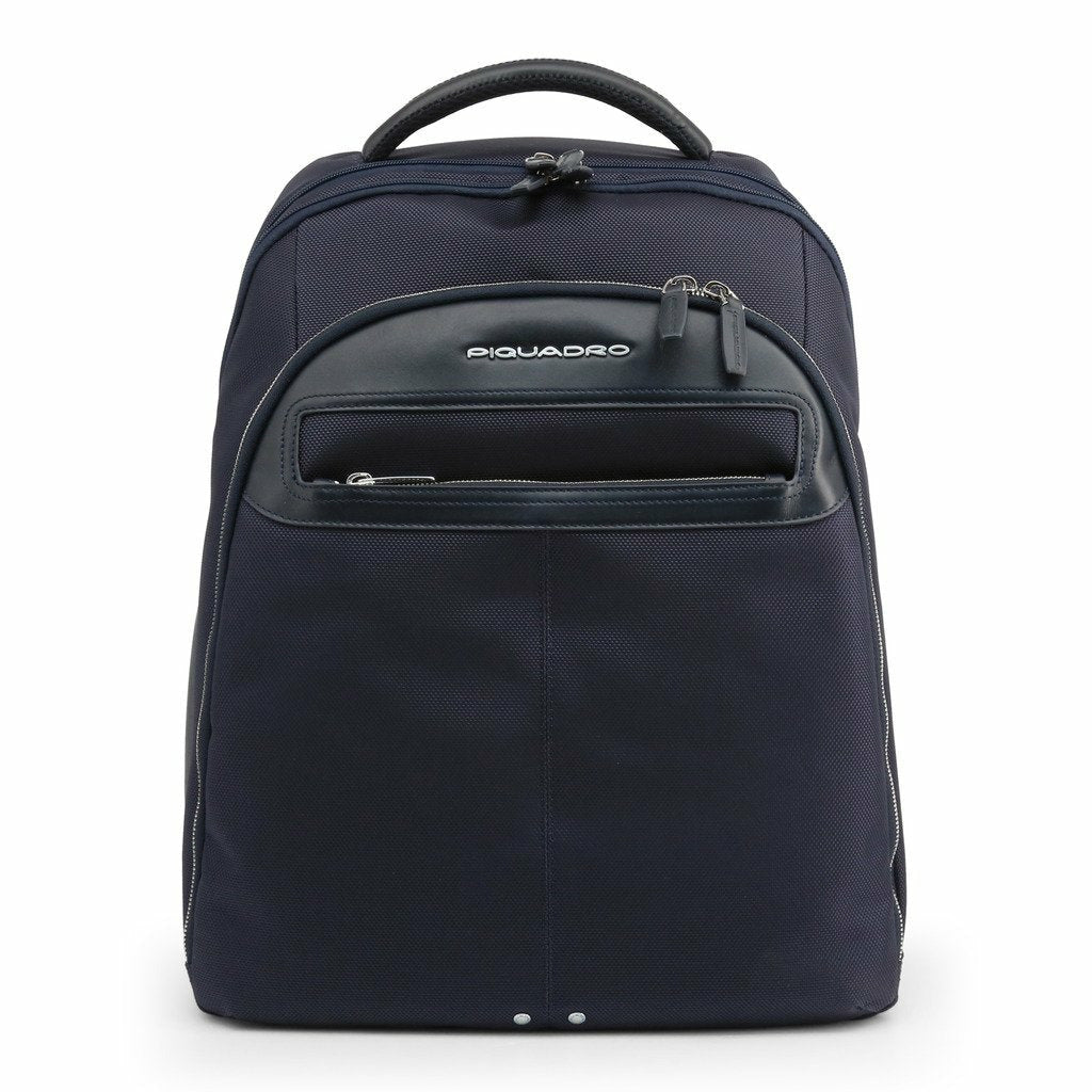 Blue Backpack with Trolley Fitting Strap