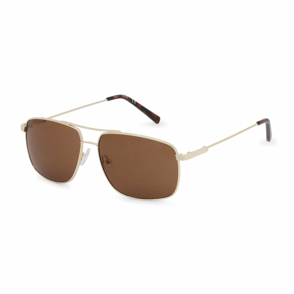 Yellow Metal Frame Sunglasses