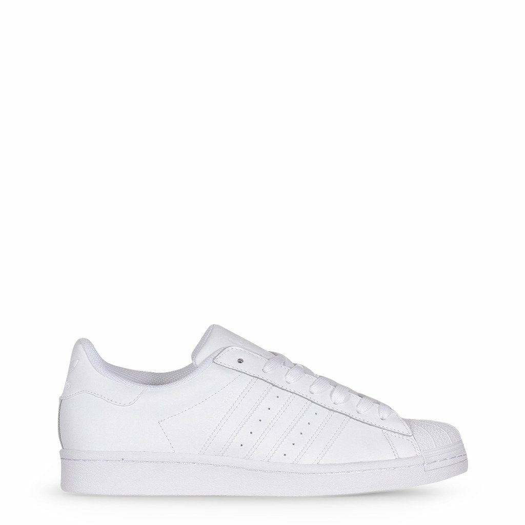 White Superstar Leather Sneakers