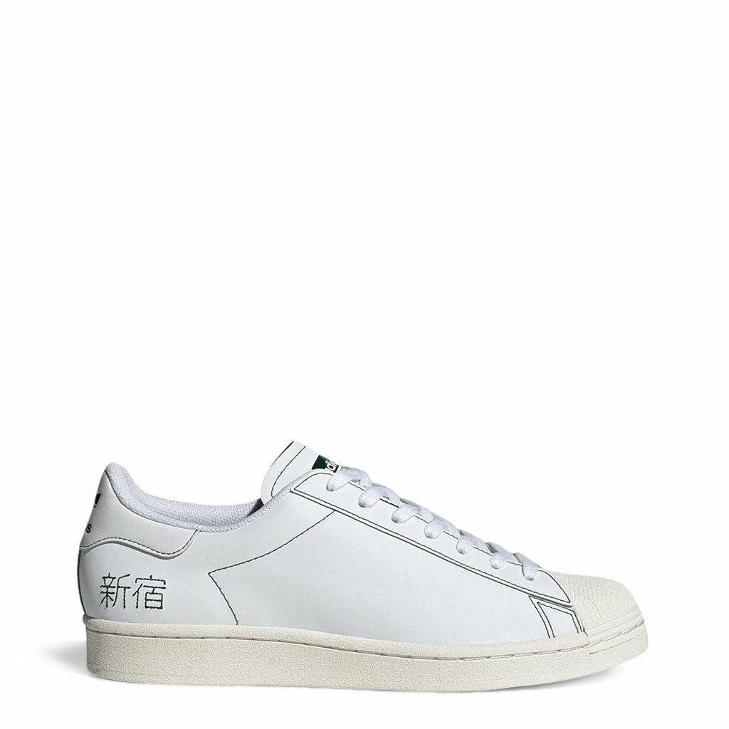 White Adidas Superstar Pure Sneakers