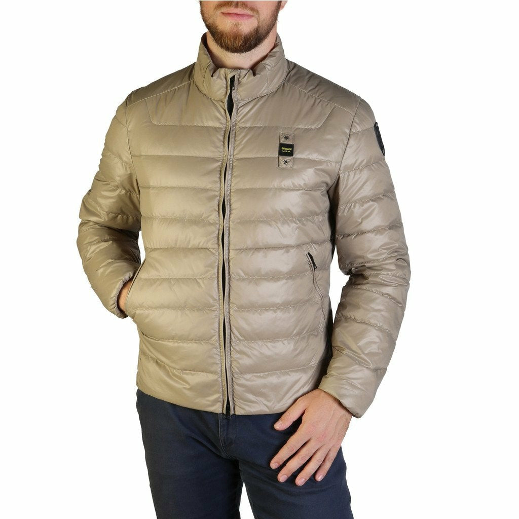 Brown Zip Jacket Lined Padded Inside