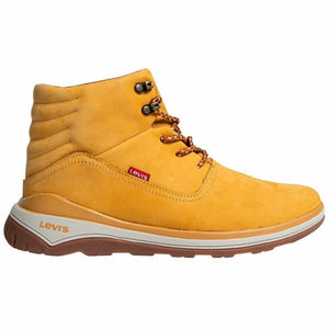 Yellow Suede Boots