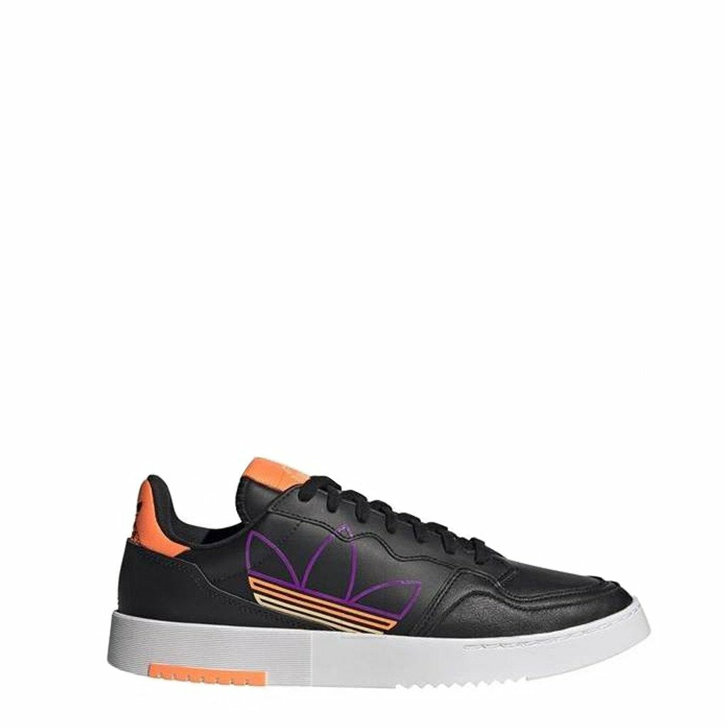 Black Supercourt Leather Sneakers