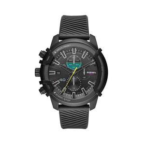 Black 48 mm Quartz Watch