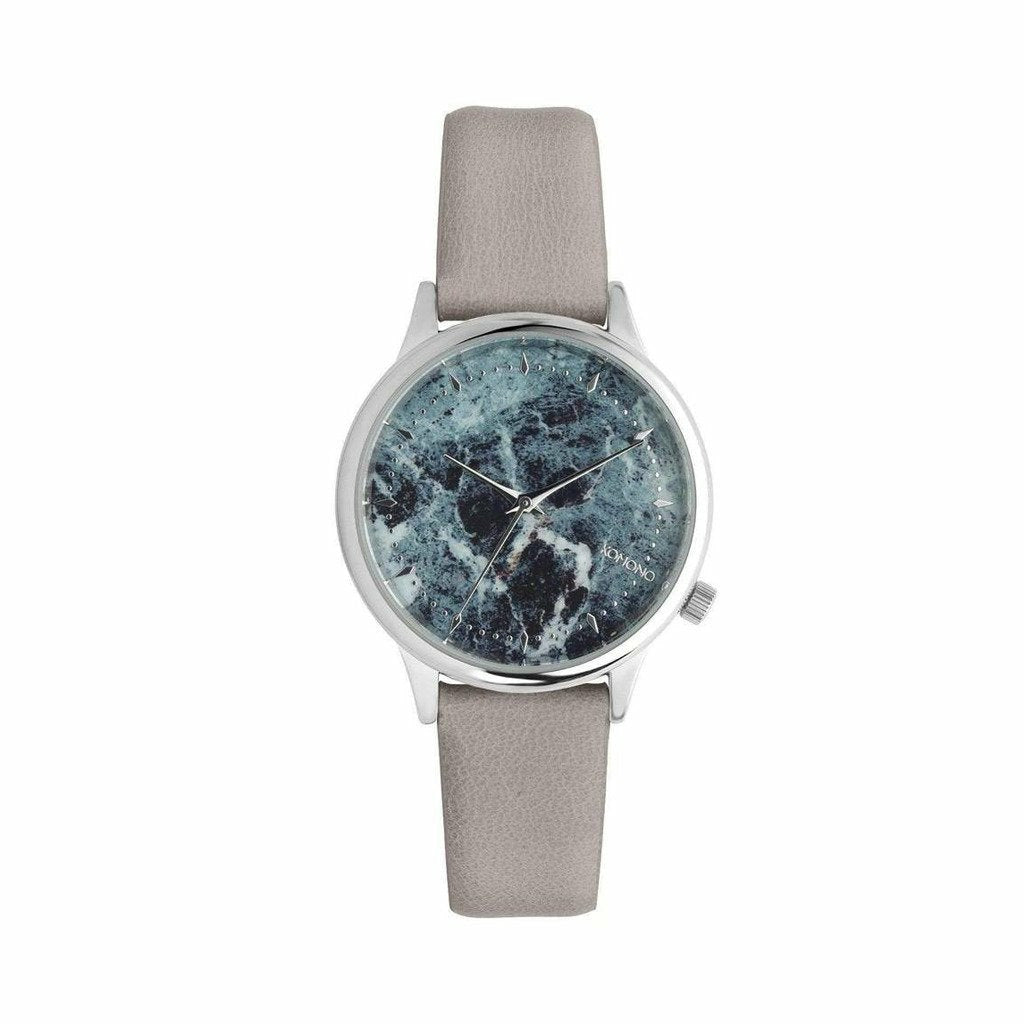 Silver Stainless Steel 36mm Quartz Watch