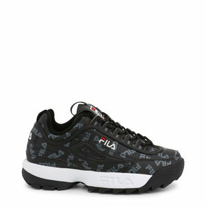 Black Synthetic Sneakers