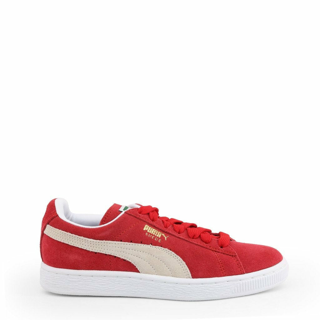 Red Puma Suede Classic Sneakers