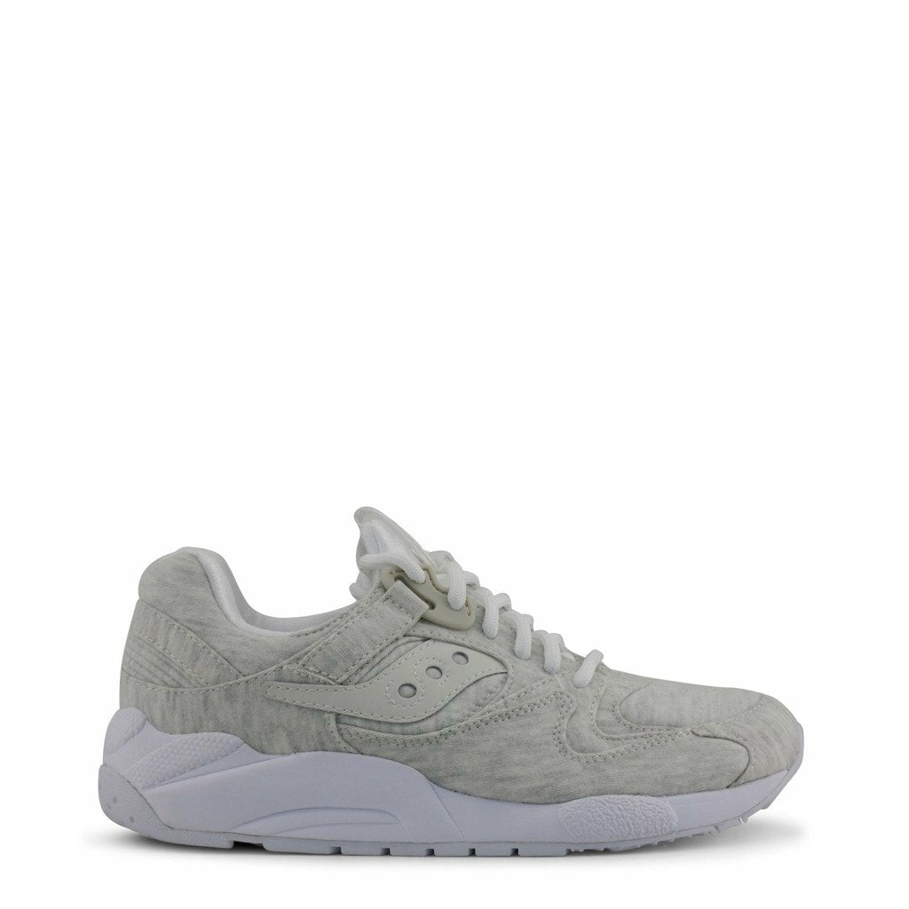Gray Textile Sneakers