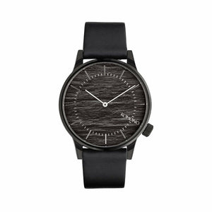 Black Stainless Steel 42 mm Watch