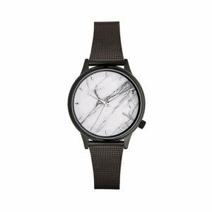 Black Stainless Steel 35 mm Quartz Watch