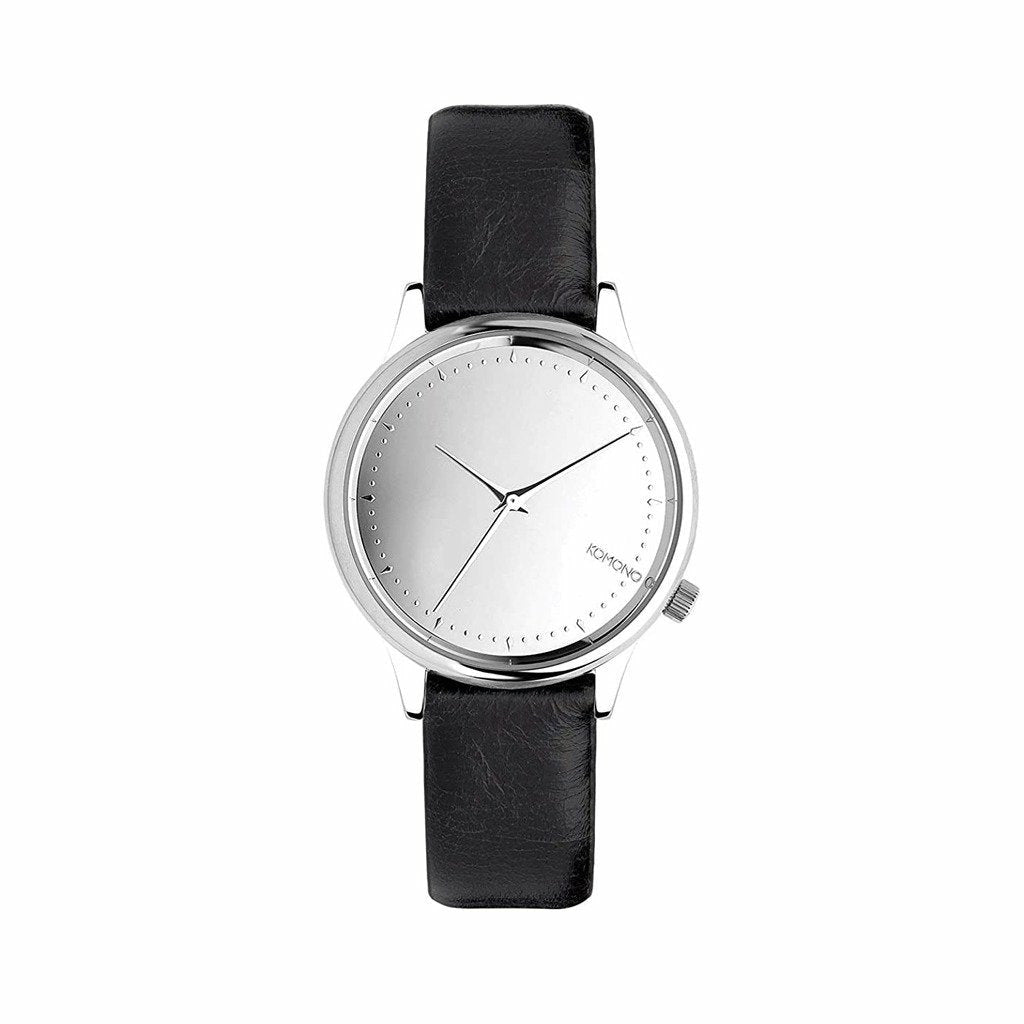 Black Stainless Steel 36 mm Quartz Watch