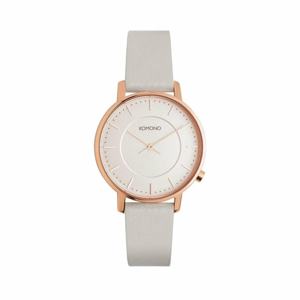 Pink Stainless Steel 36mm Quartz Watch