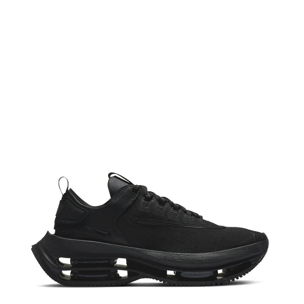 Black Zoom Double Stacked Sneakers