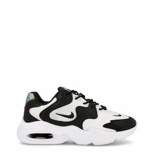 Black and White Air Max 2x Sneakers