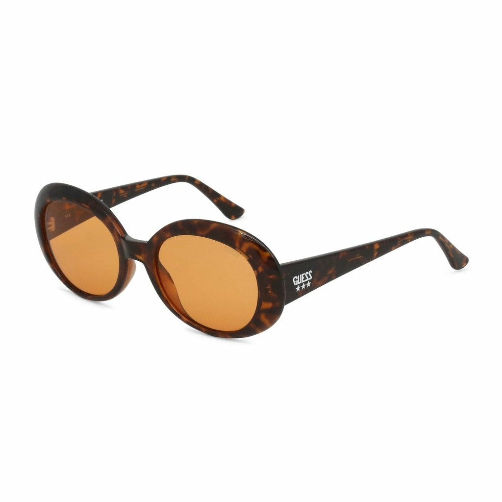 Brown Acetate Sunglasses with Gradient Lenses
