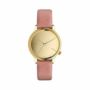 Gold Stainless Steel 36 mm Quartz Watch