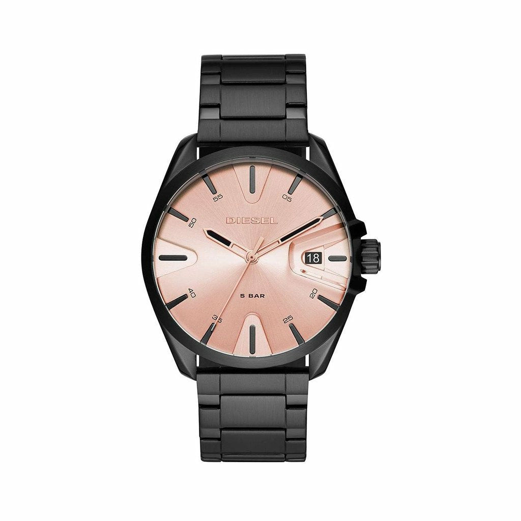 Black 44 mm Quartz Watch