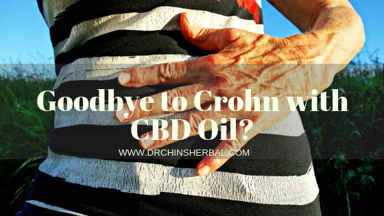 Goodbye to Crohn with CBD Oil?