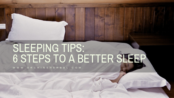 Sleeping tips: 6 steps to a better sleep