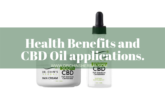 Health Benefits and CBD Oil applications.
