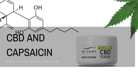CBD and Capsaicin: The coolest and hottest herbal extracts to treat joint pain.