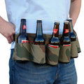 6 Pack Holster Portable Bottle Waist Beer Belt