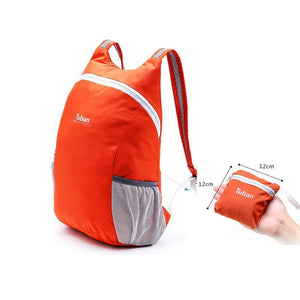 Unisex Waterproof Folding Bagpack