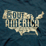 Cry Out America - Adult T-Shirt