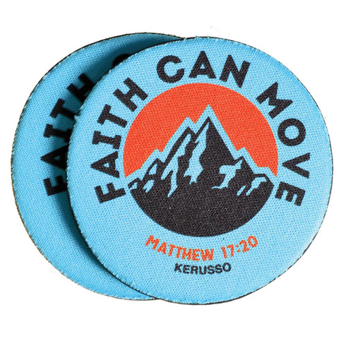 Kerusso® Auto Coaster - Faith Can Move