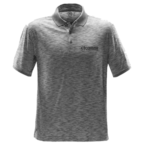 CTO - Thresher Performance Polo - Cool Silver