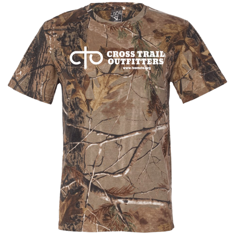 CTO - Cross Trail Outfitters Logo Adult T - Camo