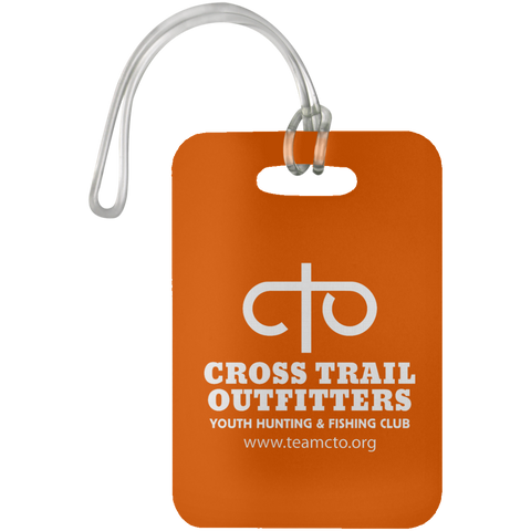 CTO - Cross Trail Outfitters Luggage Tag