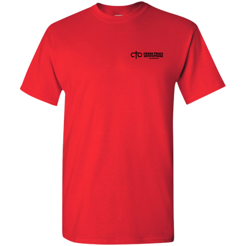 CTO - Cross Trail Outfitters Adult Logo Tee Red