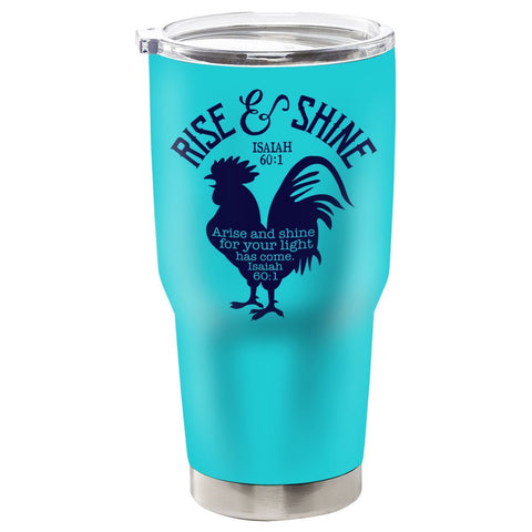Kerusso® Rise And Shine Stainless Steel Tumbler