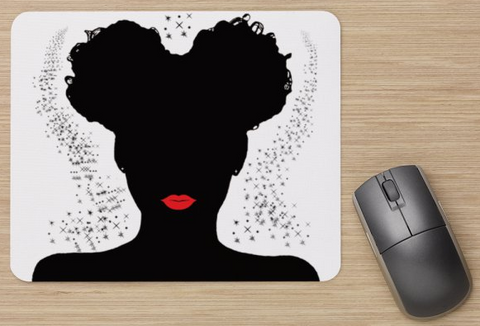 BLACK GIRL MAGIC MOUSE PAD - Prime Printing by MSM