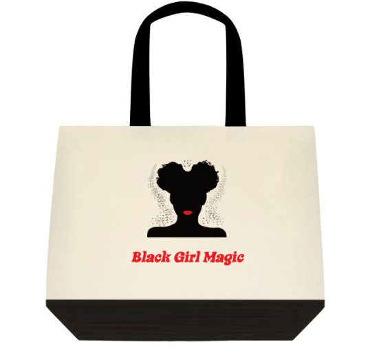 BLACK GIRL MAGIC TOTE - Prime Printing by MSM