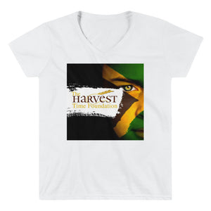 Women's Casual V-Neck Shirt - Prime Printing by MSM
