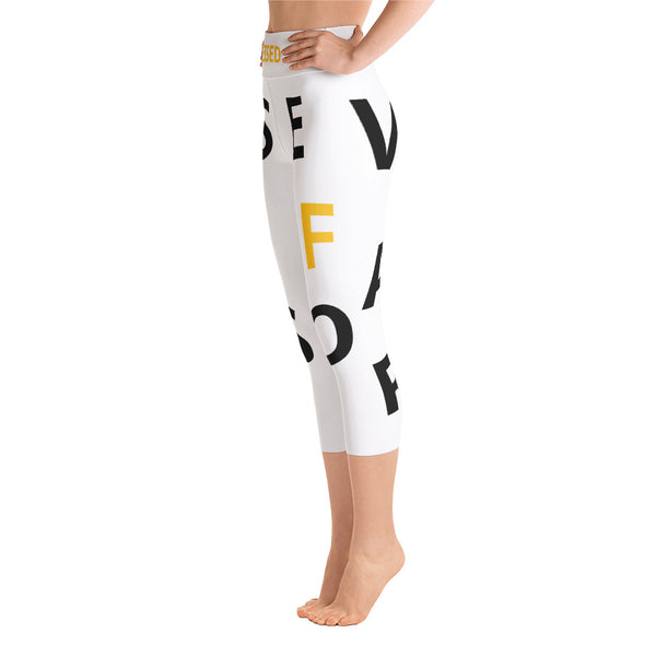 Blessed & Favored Leggings - Prime Printing by MSM