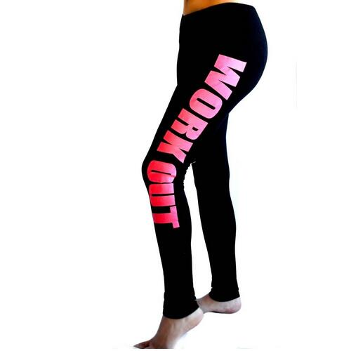 Fitness Work Out Leggings - Prime Printing by MSM