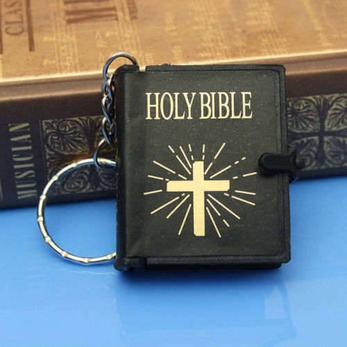 Mini Bible Keychain - Prime Printing by MSM