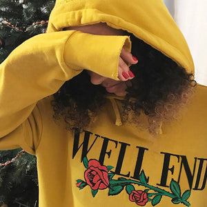 WELL END Pullover Sweatshirt - Prime Printing by MSM