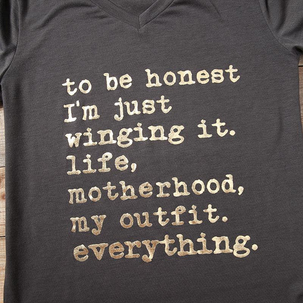 Just Winging It, Life, Motherhood - Prime Printing by MSM