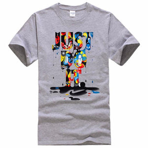 Just Do It Men's Graffiti T-shirt - Prime Printing by MSM