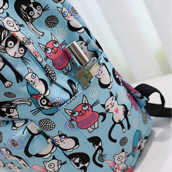 School Backpack Animal Pattern - Prime Printing by MSM