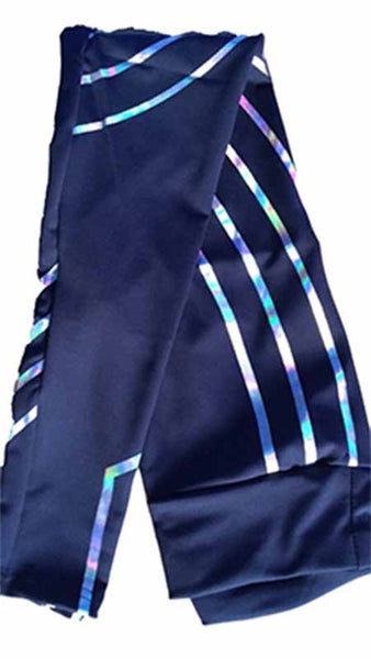 Zebra Stripe Leggings - Prime Printing by MSM