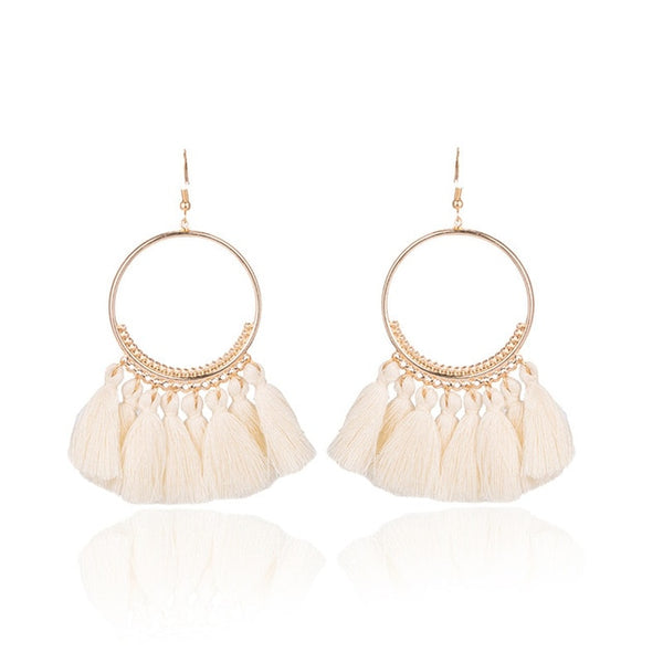 Bohemian Fringed Tassel Earrings (FREE with Any Purchase - Code: FREEGIFT) - Prime Printing by MSM