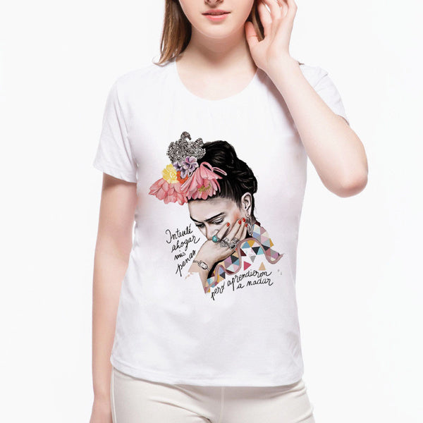 Frida Kahlo Women's T-shirt - Prime Printing by MSM
